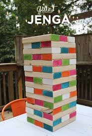 7 giant sized classic games to play outside jenga outdoor games