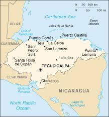 america map honduras honduras cia map official map of honduras central america maps
