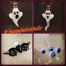 halloween glass jade white ghost glass pendant great halloween gift boo