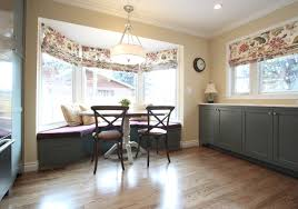 window treatments for bay windows in dining rooms kitchen exquisite awesome interior design curtains and window