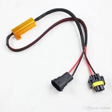 load resistors for led lights h8 h11 led drl headlight fog light canbus no error 50w 6ohm load