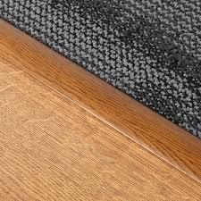 Laminate Flooring Doorway Transition Stikatak Laminate Cover Strip Flooring Threshold Door Bars Teak 1 8m