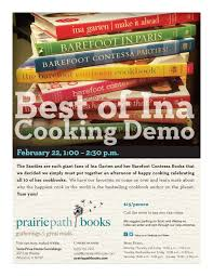 the best of ina garten sold out u2014 prairie path books
