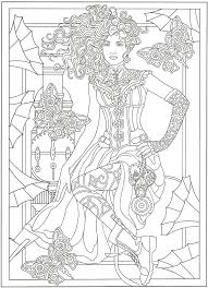 mary engelbreit coloring pages free steampunk coloring page coloring fun pinterest
