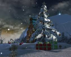 christmas tree in droknar u0027s forge mmorpg com guild wars galleries