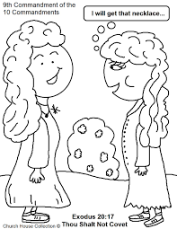 church house collection blog thou shalt not covet coloring page