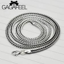 silver chain necklace wholesale images Wholesale 100 real pure 925 sterling silver necklace 2 8mm thick jpg