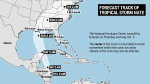 target black friday rain check tropical storm nate will target the gulf coast could bring rain