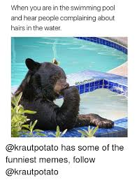 Swimming Pool Meme - when you are in the swimming pool and hear people complaining about