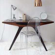 Retro Modern Desk Odyssey Writing Desk Sayeh Pezeshki La Brand Logo And Web