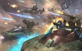 Download Wallpaper Planet Explosions Soldiers Alien Planet