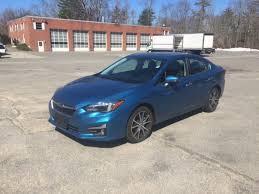 2017 subaru impreza sedan blue used 2017 subaru impreza for sale boston vin 4s3gkau60h3616031