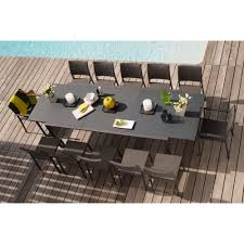 Moquette Bricorama by Table Extensible Oxford Anthracite Tables De Jardin Tables