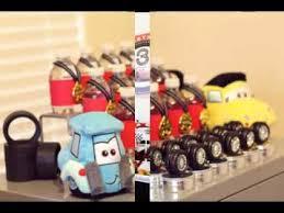 diy disney cars birthday decorations