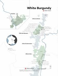 Wine Map Of France by White Burgundy The Ultimate French Chardonnay Wine Folly