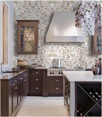 kitchen backsplash stickers of pearl tile backsplash shell mosaic tile with base st066