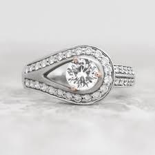 desiree ring discontinued desiree with 1 03 carat brilliant center 1 66