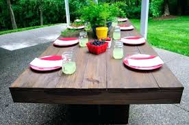 patio easy patio furniture ideas easy diy patio table making