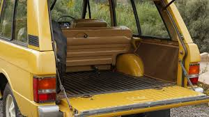 classic land rover 1971 range rover classic trunk hd wallpaper 14