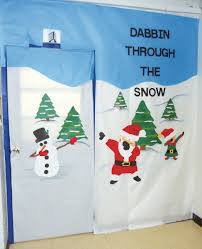 photo gallery christmas door decorating contest winners are