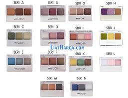 Warna Eyeshadow Wardah Yang Bagus harga eyeshadow merk wardah warna terbaru lengkap 2018 liatharga