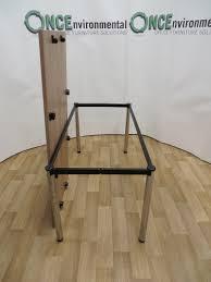 used tables senator harley axis 1500w x 750d walnut finish