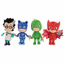 4pcs pj masks plush 4styles cat boy gekko owlette cartoon movie