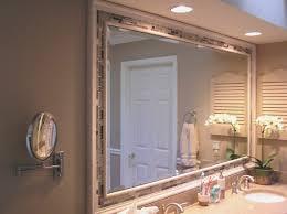 bathroom awesome how to frame bathroom mirror decoration idea