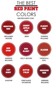 red paint color red paint color best best 25 red paint colors