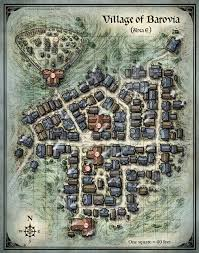 The Villages Map D U0026d Village Of Barovia Map Http Mikeschley Com Village Of