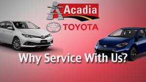 toyota credit canada phone number repair u0026 maintain your car at acadia toyota u0027s service department