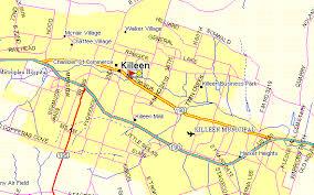 killeen map ft