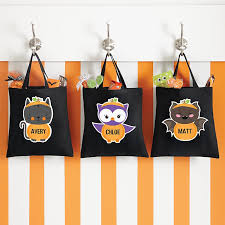 personalized halloween treat bags totes u0026 pails at personal creations