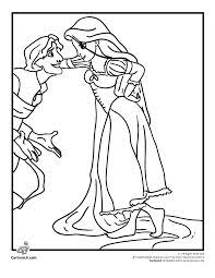 tangled rapunzel coloring page rapunzel birthday pinterest