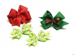 christmas hair bows bowdabra christmas hair bows