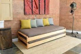 twin bed size 5 solid birch single stacking bed futon company