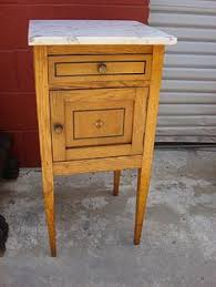Antique Marble Top Nightstand Rh Empire Rosette Closed Nightstand Finishes Antique Coffee Or