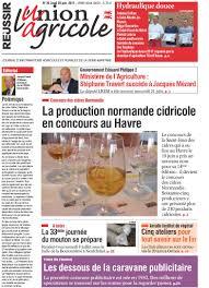 chambre d agriculture 76 a la une les anciennes éditions du journal l union agricole