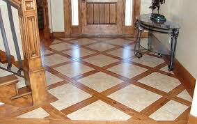 Hardwood Floor Tile Hardwood Floor With Tile Home Interiors