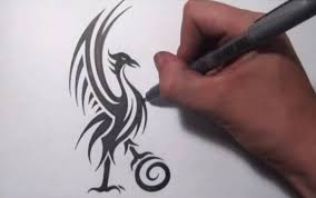 redesigning the liverpool fc liver bird cool tribal design youtube