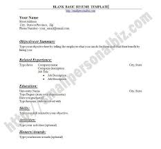 Federal Government Resume Template Download Free Printable Resume Format Resume Template And Professional Resume
