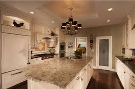 concrete countertops french country kitchen island lighting