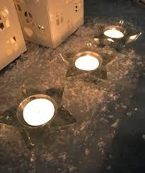 star shaped tea lights festive star shaped tea light candle holder the perfect table decoration