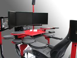 Office Furniture Setup by Stylish Computer Workstation Ideas Vision One Ergonomic And