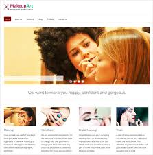 makeup artists websites 37 best artist website themes templates free premium templates