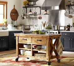 Rolling Kitchen Island Ikea by Kitchen Pottery Barn Kitchen Island Marble Kitchen Island