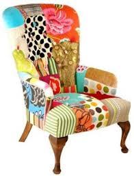Patchwork Upholstered Furniture - patchwork chair 2 folk furniture 2 patchwork