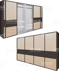 sliding door wardrobe or dressing room changing rooms shop with a