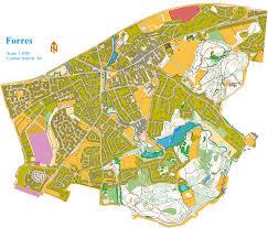 Coverage Map Sprint Sprint Qualification U2013 Forres Woc 2015