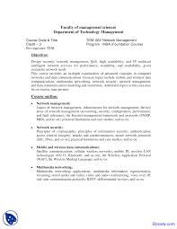network management management sciences course outline docsity